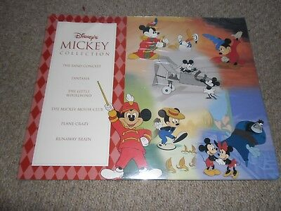 Disney's Mickey Mouse Collection of 6 A5 Posters New & Sealed Walt Disney World