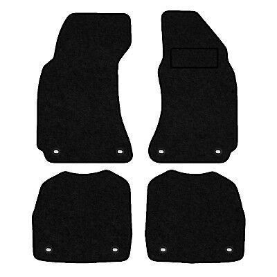 Tailored Velour Floor Mats For Skoda Superb 2002-2008 With Fixing In All Mats