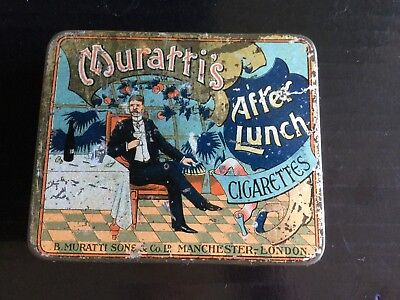 Muratti's After Lunch  Tobacco tin