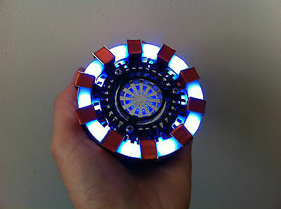 Iron Man Arc Reactor Prop for Cosplay