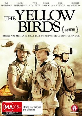 The Yellow Birds Dvd, New & Sealed, 2018 Release, Region 4, Free Post