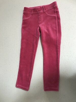 NWOT Girls UNITED COLORS OF BENETTON Pink Cord Pants. Size 3-4