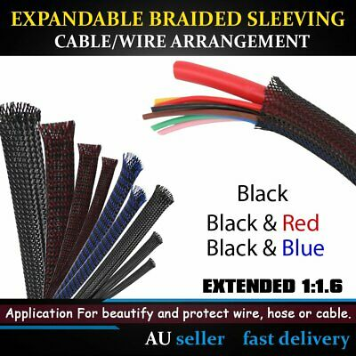 PET Expandable Braided & Open Self-Rolling Casing Cable Sleeving Wire Protection