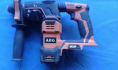 AEG 18 Volt Rotary SDS Hammer Drill =  Model # BBH 18 Skin Only Cheap Bargain