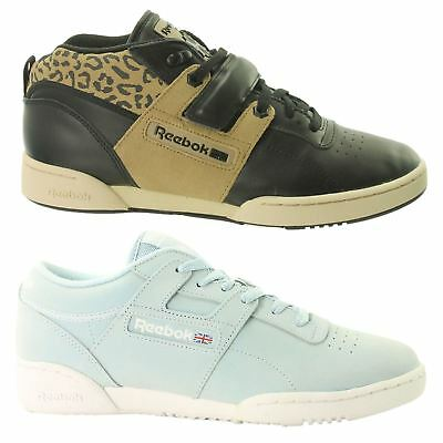 Reebok Workout Lo Mens Trainers~Classic~Leather~RRP £59.99~UK 6 to 12 Only