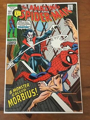 Marvel Amazing Spider-man 101 VF- Morbius