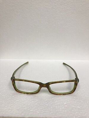 Oakley Soft top 6.0 Green Tort  Frame eyewear glasses Vault metal case and bag
