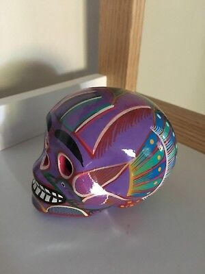 Hand Painted Mexican Sugar Skull