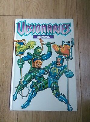 Rare Marvel Comics Visionaries Annual 1989 - book annual Vintage Retrounclipped