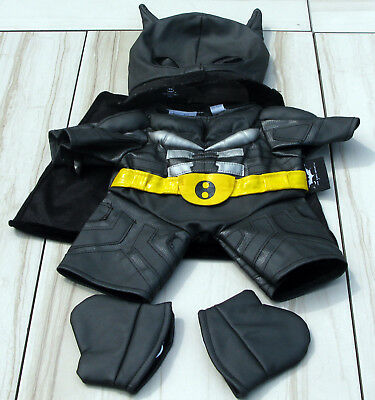 Build-A-Bear Workshop Batman Dark Knight Hero Pleather Costume Halloween Set & BUILD A BEAR Halloween Incredible Hulk Costume - £13.30 | PicClick UK