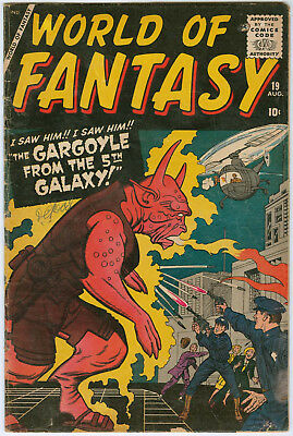 World of Fantasy #19 - Kirby cover and Ditko story