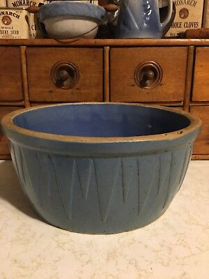 Ruckel's Icicles Blue Bowl