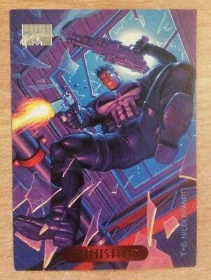 Marvel Masterpiece 1994 Card PUNISHER #94 Fleer
