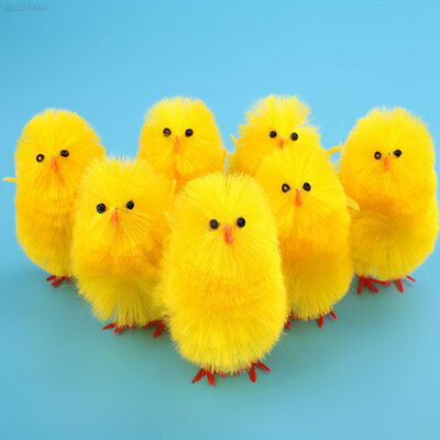 Mini Chicken Bright Yellow Easter Chick Home Party Decoration For Kids