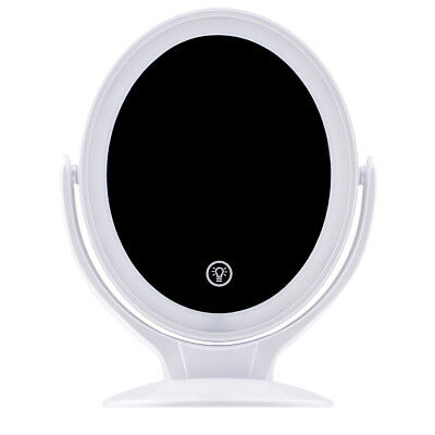LED Light Makeup Beauty Mirror 7X Magnifying Cosmetic Mirror Hanging Wall