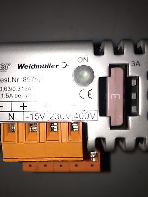 Weidmuller CP-NT 36W CP NT CPNT36W 3A Power Supply Transformer 15 VDC