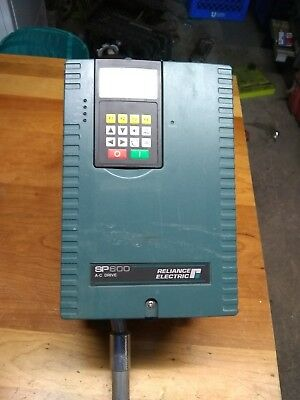Reliance Electric SP600 AC Drive Model# 6SP401-014BTAN 480 volts. Used Good Cond