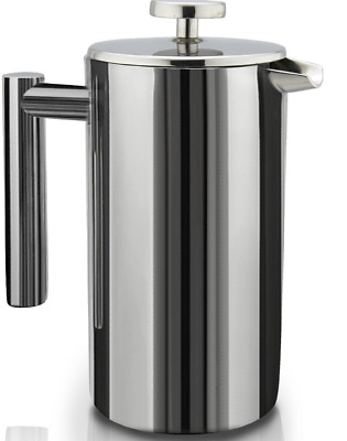 French Presses Double-Wall Stainless Steel Mirror Finish (1L)  E2