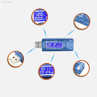 USB Volt Amp Voltage Meter Ammeter Doctor Charger Power Bank Capacity Tester