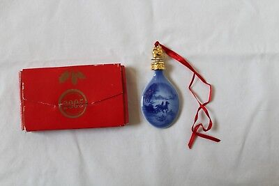 Bing & Grondahl Christmas Drop Ornament ~~ 2005 ~~ With Box
