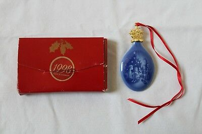 Bing & Grondahl Christmas Drop Ornament ~~ 1998 ~~ With Box