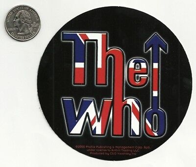 THE WHO new vinyl Sticker/Decal rock music band car bumper