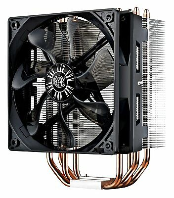 Cooler Master Hyper RR-212E-20PK-R2 LED CPU Cooler with PWM Fan, Four Direct