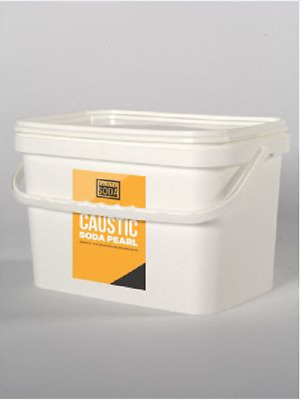 Top Grade Caustic Pearl Lye Use On Grease Sinks Glass Ovens & Much More