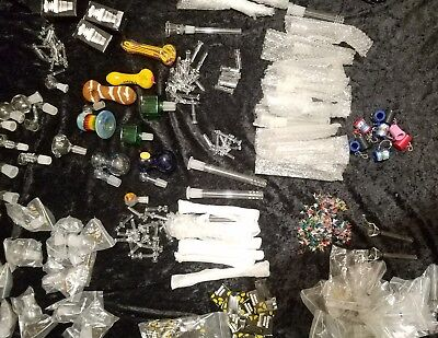 ☆HUGE LOT☆Bangers, Nails, Pipes, Rigs, Bongs Screens, Dabbers, Bubblers, Bowls.