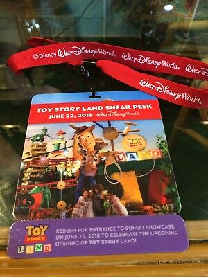 Cast Member NEW Toy Story Land Lanyard
