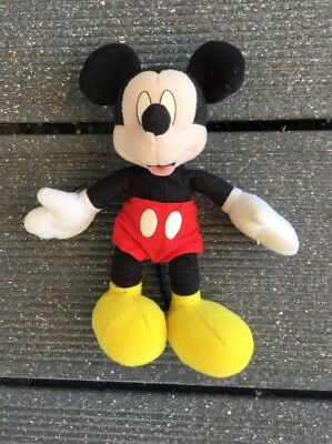 Mickey Maus / Mouse - Stofftier, ca. 17 x 15 cm