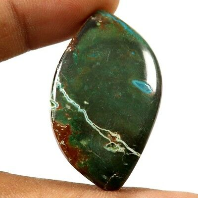 50.85cts Natural Chrysocolla Designer Untreated  Gemstone Fancy Loose Cabochon