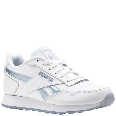 2369185474fe NEW WOMENS REEBOK WHITE LIQUID CLASSIC LEATHER PEARLIZED Sneakers ...