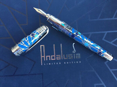 S.t. Dupont Andalusia Limited Edition Fountain Pen Medium Nib 481764M