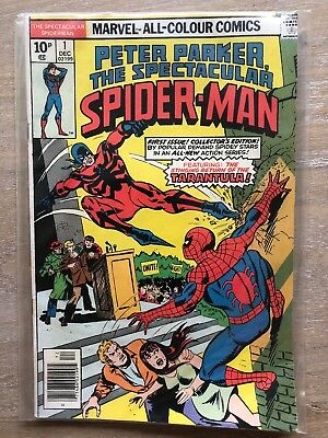 Peter Parker The Spectacular Spiderman 1