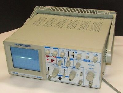 BK Precision 2120B Oscilloscope 30MHz Dual-Trace 2-Channel Analog Tested
