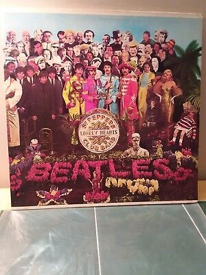 Beatles Sgt. Pepper's Lonely Hearts Club Band LP SMAS 2653 (VG+/EX) w/ INSERT