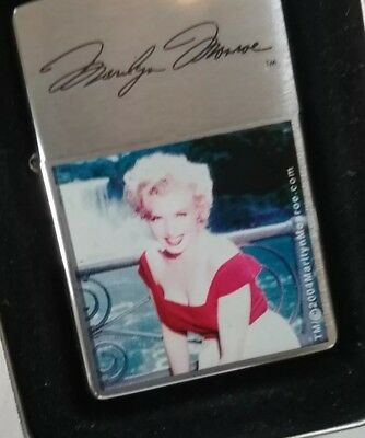 Zippo Lighter - Stars Of Hollywood - Marilyn Monroe - In Tin Box