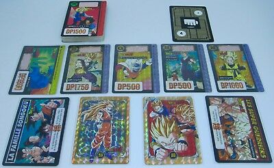 Dragon Ball Z CARDDASS PART.16 Absolute Full Set 44/44 Hors Serie INCLUDED