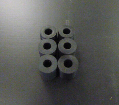 6x Gummipuffer Bordwandpuffer Ladebordwand IFA Multicar M25 NEU