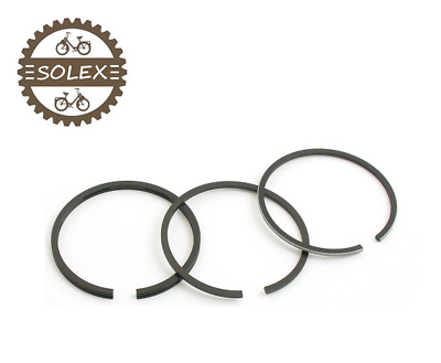 Kit De 3 Segments De Solex 39.5Mm Velosolex 2200 3800 5000 Cyclomoteur Piston
