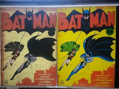 Batman Comics:Issues 001 to 129 on DVD (NOT CARTOONS)