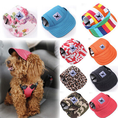 Pet Dog Hat Baseball Cap Windproof Travel Sports Sun Hats for Puppy Large Dog #A
