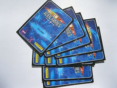 Dr who Alien Armies. 9 trading cards.BBC 2004.
