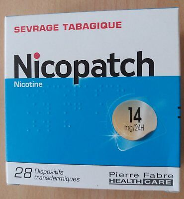 NICOPATCH 14 mg/24H - 28 substituts nicotiniques - Anti-Tabac