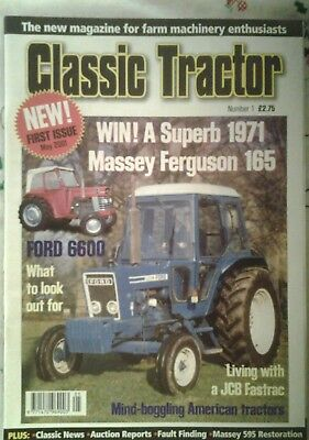 Classic Tractor Number 1 issue May 2001.