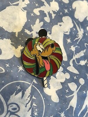 Disney Trading Pins - Pluto - Lollipop Collection Pin (LE 1600) - Used