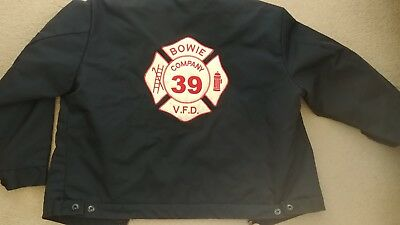 Fire Department station jacket. Bowie (MD) VFD. PGFD. Prince George's County.