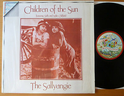 "LP THE SALLYANGIE "" Children Of The Sun "" featuring Sally + Mike Oldfield"