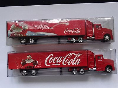 Coca-Cola Trucks 2 pcs very rare CokaCola promotional trucks No.K2